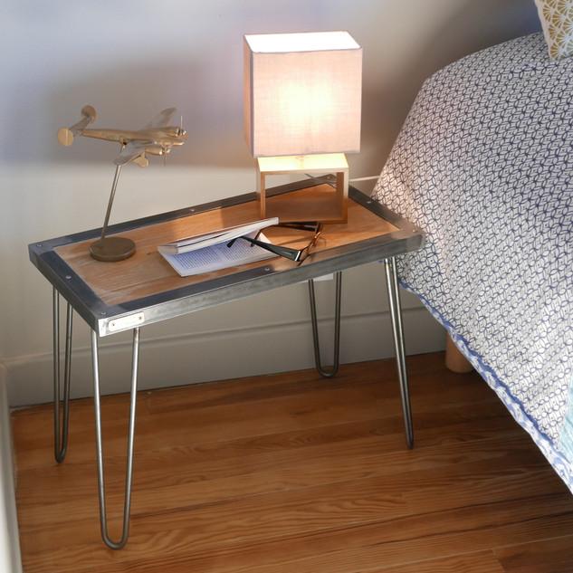 Petite table rectangle modèle Gauthier