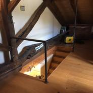 Garde corps d'un escalier