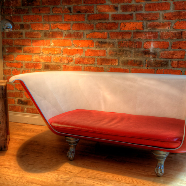 Baignoire canapé
