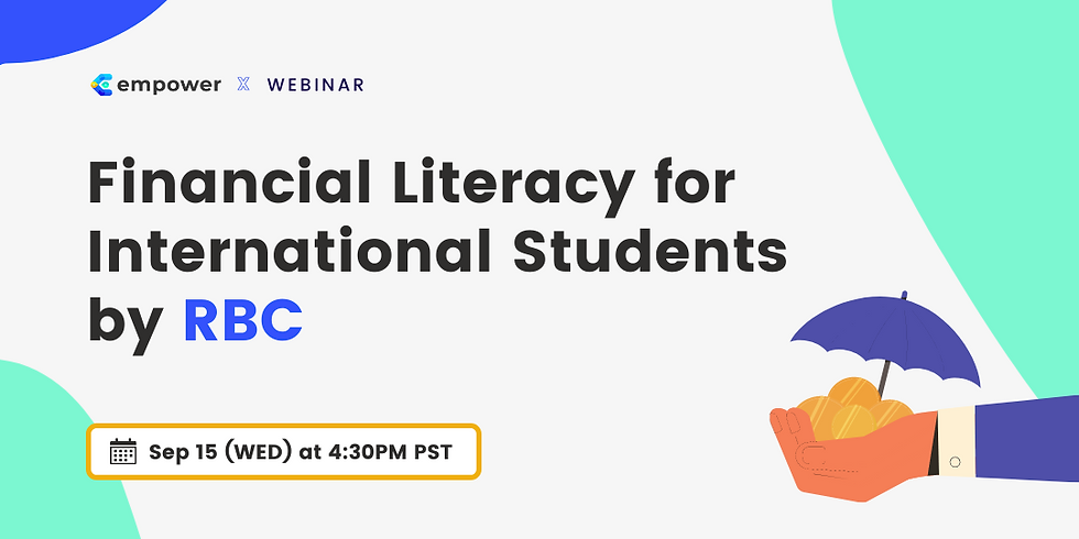 Financial Literacy for International Students by RBC