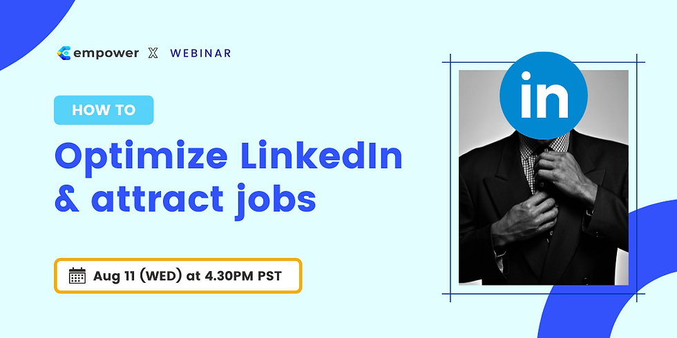 How to Optimize LinkedIn and Attract Jobs