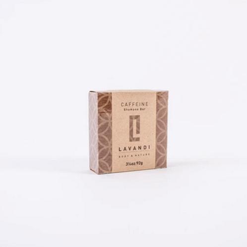 Lavandi Body & Nature Organic Shampoo Bar Caffeine vegan natural haircare UK