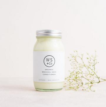 Wild Sage + Co Lavender & Rose Geranium Hair Conditioner 175ml