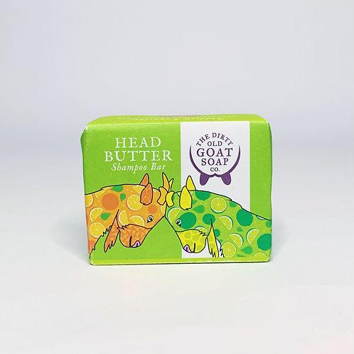 Goat Shampoo Bar  – Head Butter Limes & Tangerines Shampoo Bar
