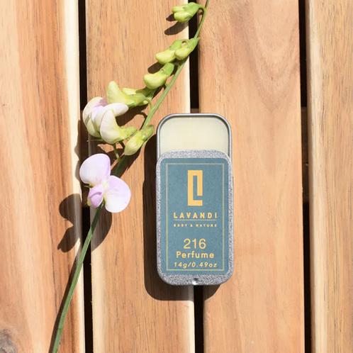 Lavandi Body & Nature Solid Fragrance Natural Vegan Breeze Online Store UK