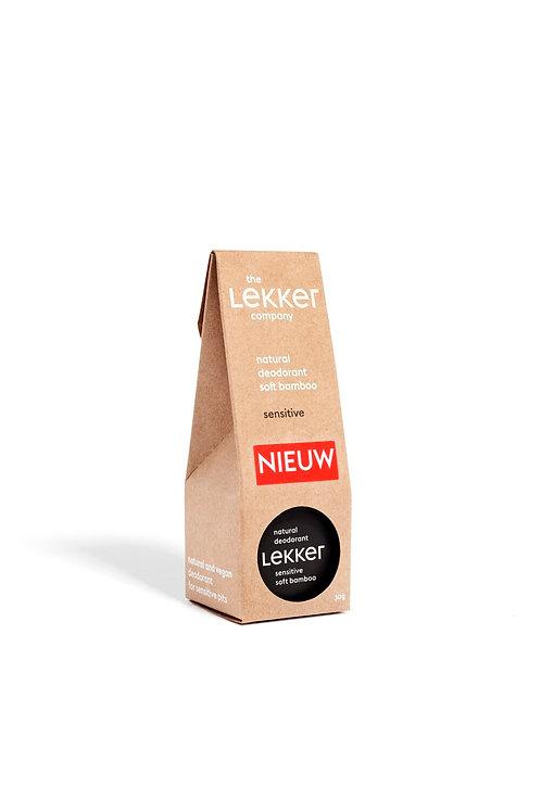 Lekker Sensitive Deodorant Soft Bamboo Vegan Natural Skincare Breeze Online Store UK