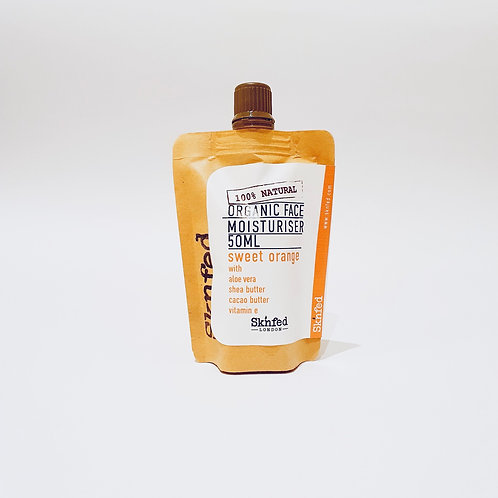Sknfed Organic Face Moisturiser - Sweet Orange 50ml