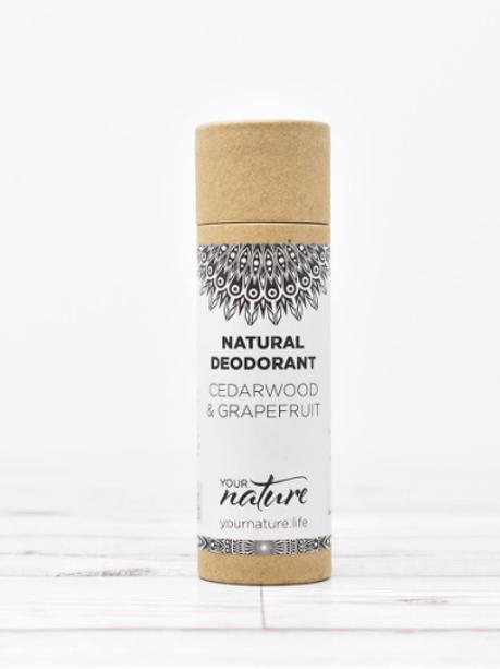 Cedarwood & Grapefruit Your Nature 70g natural deodorant stick