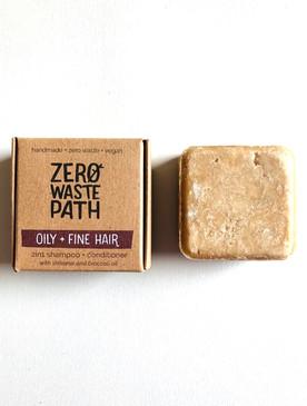 Zero Waste Path 2 in 1 shampoo bar