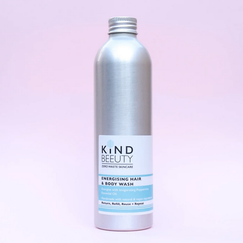 Kindbeeuty Energising  Hair & Body Wash 250ml