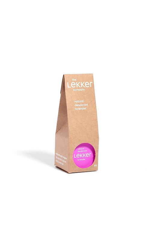 Lekker Lavender Deodorant Vegan Natural Skincare UK Breeze Online Store