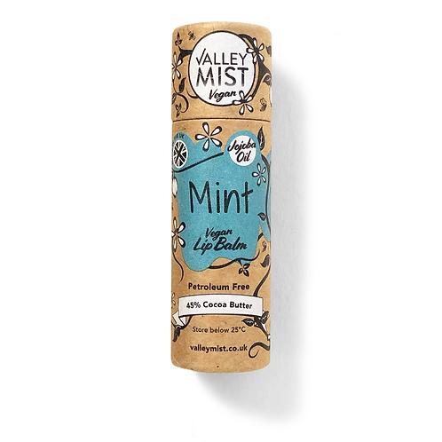 Valley Mist Mint Vegan Lip Balm 10g