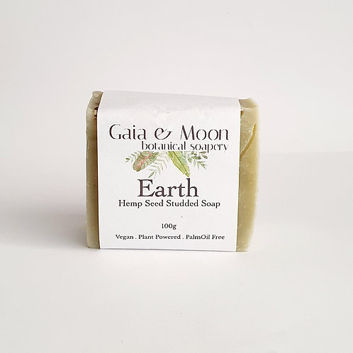 Gaia & Moon Earth Hemp Seed Soap 100g