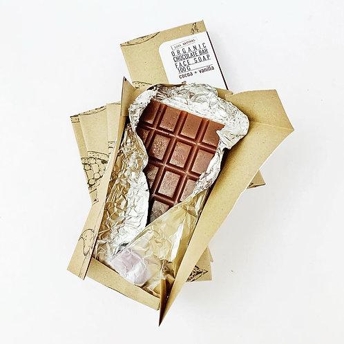 Sknfed Organic Chocolate Bar Face Soap 100g
