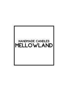 Mellowland handmade soy candles vegan natural Breeze Jersey UK
