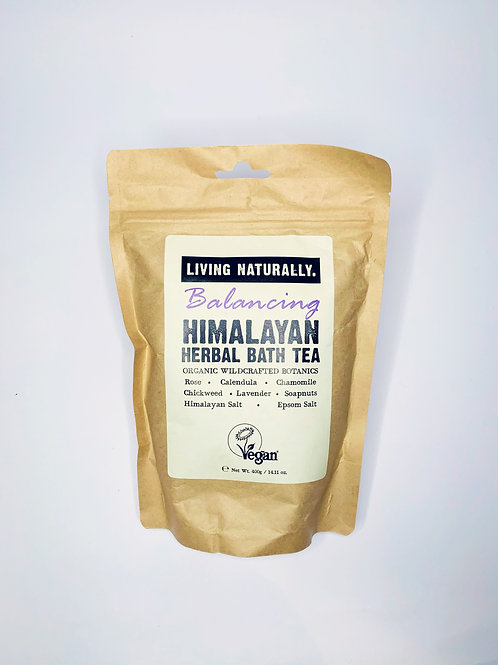 Living Naturally Balancing Himalayan  Herbal Bath Tea 400g
