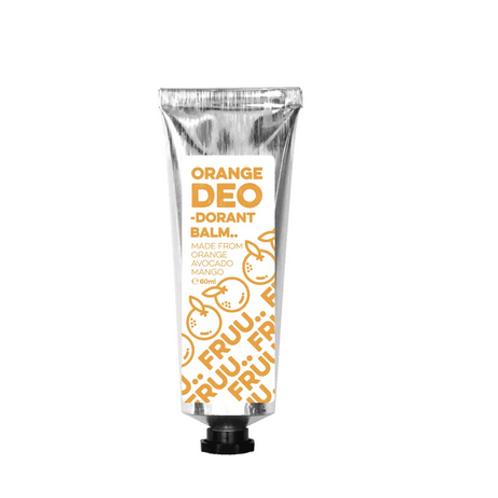 Fruu Cosmetics Orange and Petitgrain Deodorant Balm 60ml