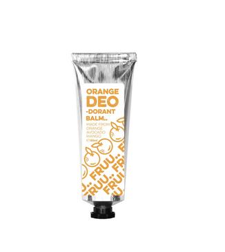 Fruu Cosmetics Orange and Petitgrain Deodorant Balm 60ml.png