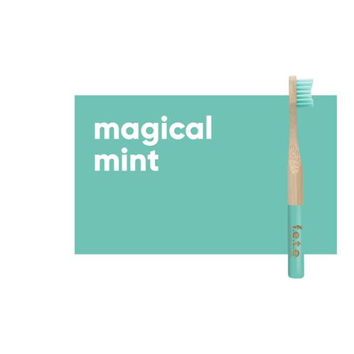 Children's Soft Bristle Bamboo Toothbrush – Green