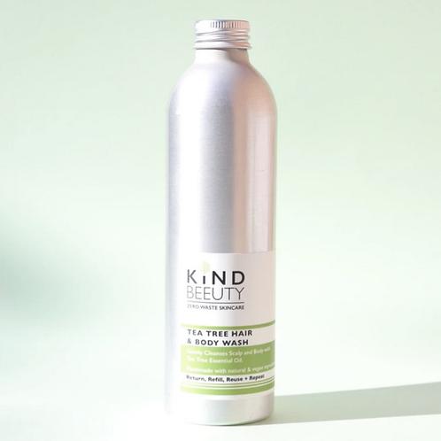 Kindbeeuty Tea Tree Hair & Body Wash 250ml