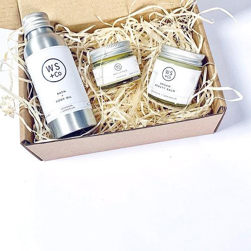Breeze Gift Set Vegan Skincare Eco Natural Handmade UK