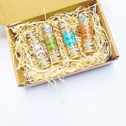 Breeze Small Gift Set - Organic Lip Balms