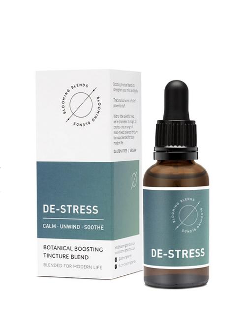Blooming Blends De-Stress Blend Natural Soplement Vegan Handmade Skincare UK