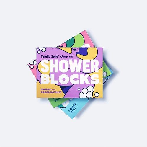Shower Blocks Mango & Passionfruit Solid Shower Gel
