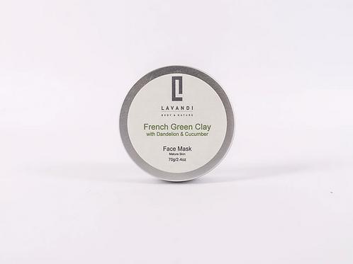 Lavandi Body & Nature Face Mask Vegan Natural Skincare UK