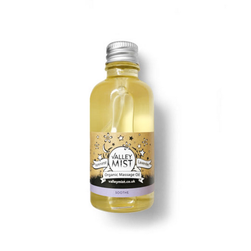Valley Mist Organic Baby Massage Oil Soothing Frankincense and Lavender