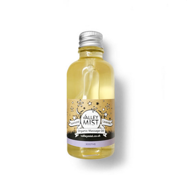 Valley Mist Organic Baby Massage Oil Soothing