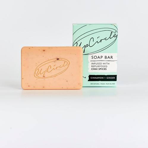UpCircle Cinnamon & Ginger - Chai Soap Bar 100g