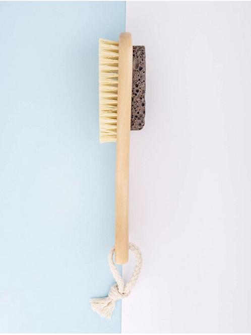Eco Lava Stone Brush and Pumice