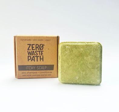 Zero Waste Path 2in1 Shampoo + Conditioner - Itchy Scalp 70g