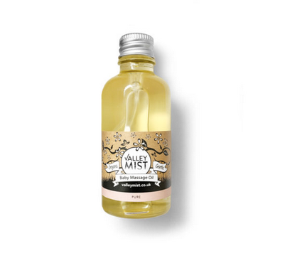 Valley Mist Organic Baby Massage Oil Pure