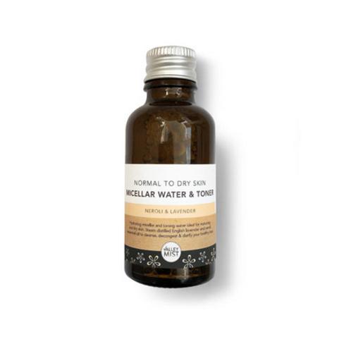 Valley Mist Normal - Dry Skin Micellar & Toner 30ml
