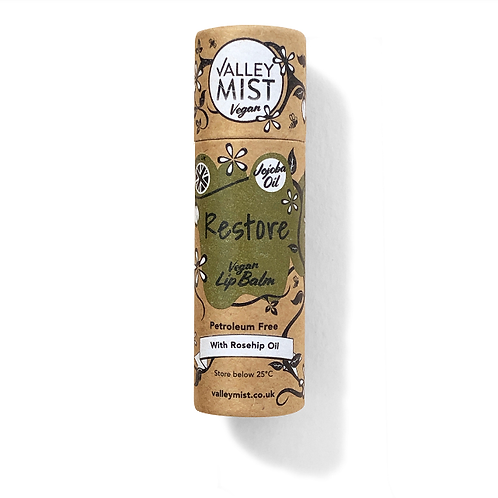 Valley Mist  Restore Vegan Lip Balm 10g