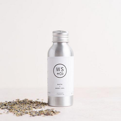Wild Sage + Co Bath & Body Oil  100ml
