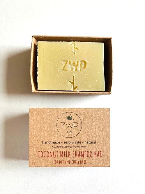 Zero Waste Path Coconut Milk Shampoo Bar 100g