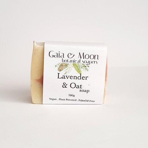 Gaia & Moon Lavender & Oat Soap 100g