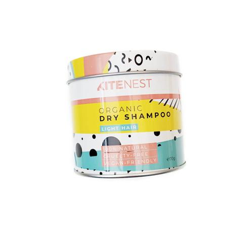 Kitenest Dry Shampoo natural handmade vegan haircare Breeze Jersey UK