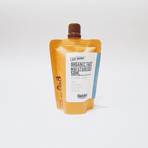 Sknfed Organic Face Moisturiser -Scent Free 50ml
