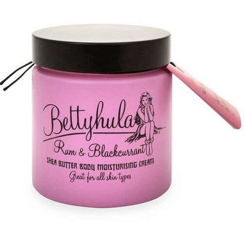 Betty Hula Shea Butter Body Moisturiser Rum & Blackcurrant 120g