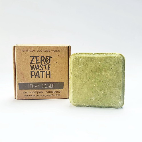 Zero Waste Path 2in1 Shampoo + Conditioner - Itchy Scalp  70g