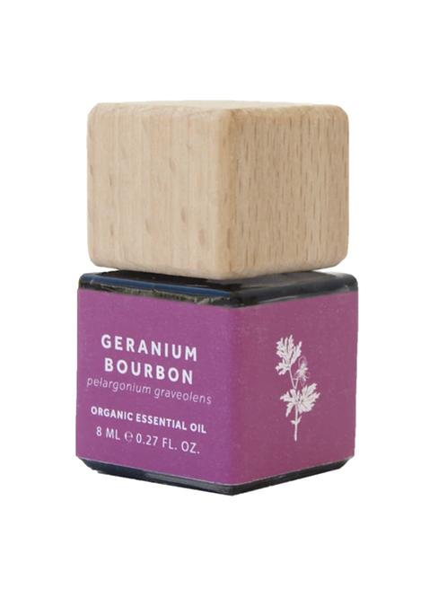 Bio Scents Organic Geranium Bourbon Essential Oil vegan natural handmade products UK