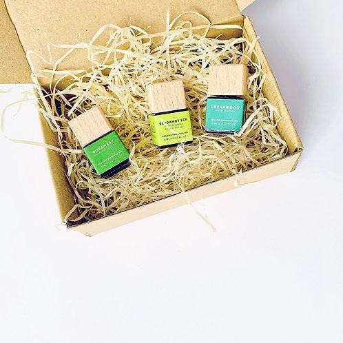 Breeze Small Gift Set - Organic Essential Oils