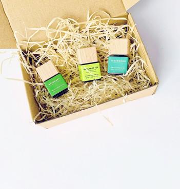 Breeze Gift set natural vegan handmade skincare zero waste shop UK Jersey