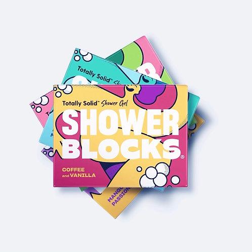 Shower Blocks Coffee & Vanilla Solid Shower Gel