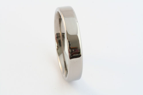 Polished Titanium band