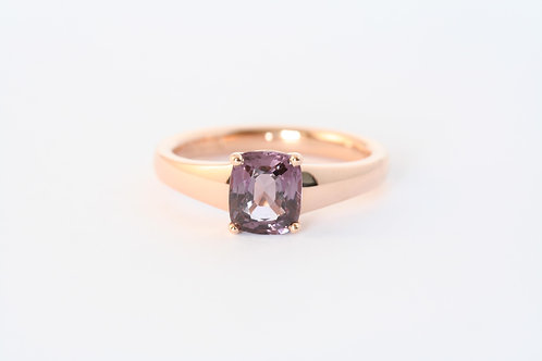 Spinel in Rose Gold